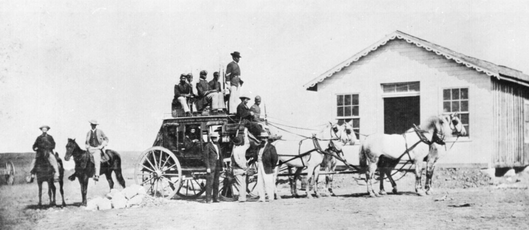 Concord stagecoach 1869